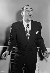 Louis Prima famous Italian-American singer