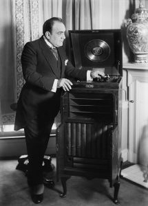 Enrico Caruso iconic opera singer from Naples, Italy