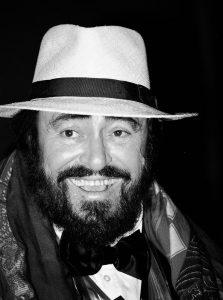 Lucio Pavarotti iconic Italian opera singer and star