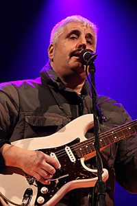 Pino Daniele famous Italian singer, songwriter and pop star from Naples