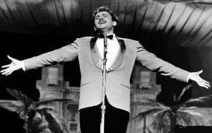 Domenico Modugno famous Italian singer of Volare song, Blu Dipinto di Blu