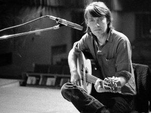Fabrizio de Andre' famous Italian singer and folk artist