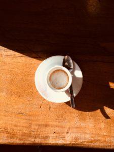 Italian espresso at bar