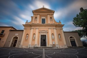 Basilica of San Valentino in Terni (Umbria) dedicated to Saint Valentine and site of special rituals on February 14.